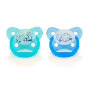 Dr. Brown's 0-6 Months Glow in the Dark Pacifier - Girl