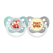 Ulubulu 0-6 Months 2 Pack Neutral Pacifier - Foxy Baby