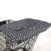 Balboa Baby Shopping Cart Cover - Black Lattice