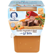 Gerber 3rd Foods Garden Vegetable Beef - 2 Pack