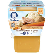 Gerber 3rd Foods Autumn Vegetable Turkey - 2 Pack