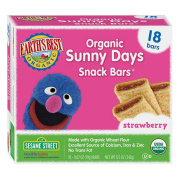 Earth's Best Organic Sunny Days Strawberry Snack Bars - 18 Count
