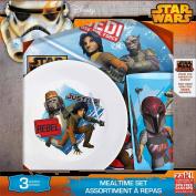 Star Wars Rebel 3 Piece Dinnerware Set