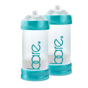 Bare Air-free 240ml 2 Pack Baby Bottle with Perfe-latch Nipple