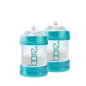 Bare Air-free 120ml 2 Pack Baby Bottle with Perfe-latch Nipple