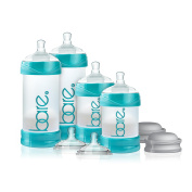 Bare Air-free Starter Set Baby Bottle with Easy-latch Nipple