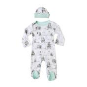 Finn + Emma Organic Cotton Boy Gift Set - Size 0-3 - Boat Print