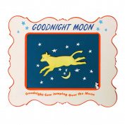 Precious Moments Goodnight Moon Cow Jumping Over Moon Plaque