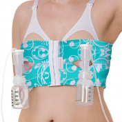 PumpEase Hands-Free Pumping Bra - TaTa Turquoise