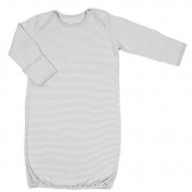 Tadpoles Organic Cotton Sleep Gown, Grey, 0-6 Months