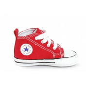 Converse Boys Red Soft Sole High Top Chuck Taylor Sneaker