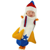 Princess Paradise Neutral Roger the Rocket Ship Bunting Halloween Costume - 0-3 Months