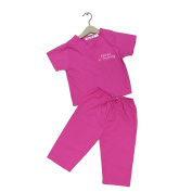 "Scoots Girls Hot Pink ""Nurse in Training"" Scrubs- Infant/Toddler"