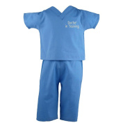 "Scoots Boys Blue ""Doctor in Training"" Scrubs"