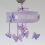 Lambs & Ivy French Lavender Mobile