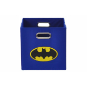 Batman Logo Blue Folding Storage Bin