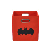 Batman Shield Red Folding Storage Bin