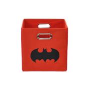 Batman Shield Red Folding Storage Bin
