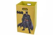 Batman Yellow Folding Laundry Basket