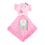 Carter's Pink Elephant Security Blanket