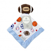 Carter's Football Security Blanket with Plush