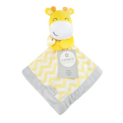 Carter's Yellow Giraffe Security Blanket