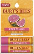 Burt's Bees Pink Grapefruit, Moisturising Lip Balm 5ml, 4pack
