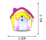 Set of 40 Baby Sweater Buttons Cartoon Decorative Buttons, House
