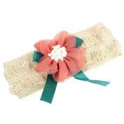 Sankuwen Baby Lace Elastic Flower Headwear