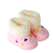 Creazy® Baby Girls Snow Boots Soft Crib Shoes Toddler Boots