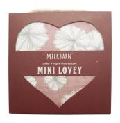 Milkbarn Organic Cotton Mini Lovey - Rose Floral
