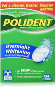 Polident Overnight Oral Care, 84 Count