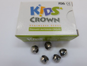 5PCS(Refill/box) PRIMARY ANTERIOR CROWN(stainless steel) FDA
