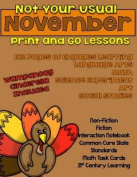 Not Your Usual November Print and Go Lessons