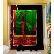 Thumbprintz African Beauty I Shower Curtain