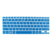 Notebook Keyboard Protector Skin Cover Blue Clear for Asus UX21/X201/X202/S200