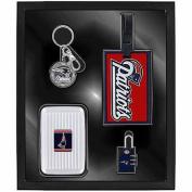 Aminco Sports 4-Piece Travel Box Set, Patriots