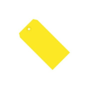 Yellow 13 Pt. Shipping Tags SHPG11011C