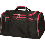 Protege 60cm Duffel, Black with Pink