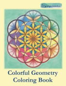 Colorful Geometry Coloring Book