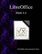 Libreoffice Math 4.4