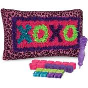 PlushCraft XOXO Pillow Kit, XOXO Pillow