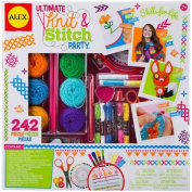 ALEX Toys Craft Ultimate Knit & Stitch Party