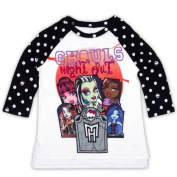Monster High Girls' Ghouls Night Out Halloween Tee