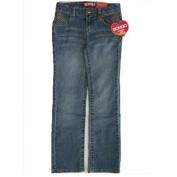 Bongo Girls Blue Denim Seaming Detailing Pockets Pants 14