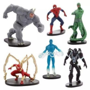Marvel Spider-Man Series Toys Pack of 6
