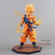 Dragon Ball Z Super Saiyan Son Goku PVC Action Figure Collectible Toy 17cm