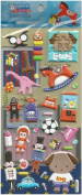 Large Puffy Stickers - Toys