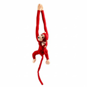 Sunward Cute Soft Screech Hang Plush Monkey Gibbons Toy Dolls Birthday Xmas Gift