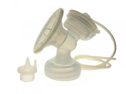 Maymom Flange Kit for Avent Philips Comfortable Breastpump, Single Side, Flange, Valve, Tube, Massage Pad, Suction Membrane, Cap